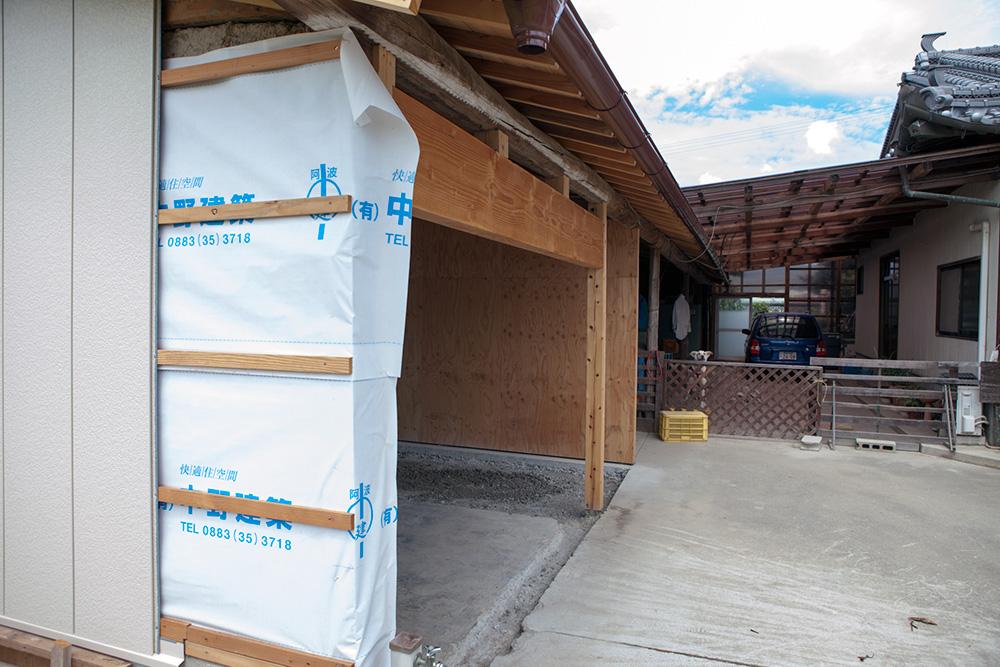 大型納屋の雨漏り対策と補強 〜その3〜_a0163962_1122395.jpg