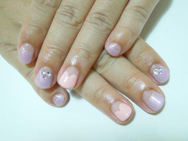 Pickup Nail〜Pink_a0239065_1411281.jpg