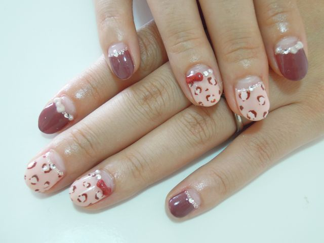 Leopard × Red_a0239065_14145156.jpg