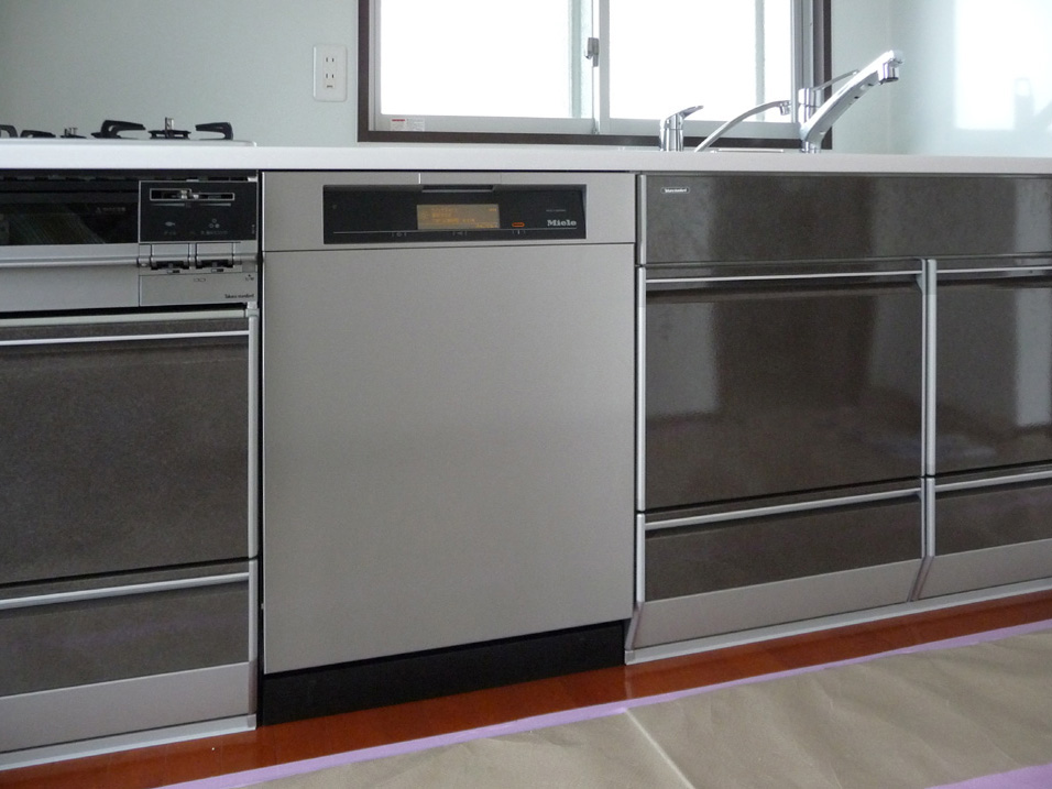 ★タカラスタンダードにミーレ全自動食器洗い機 60cm幅タイプG5910ステンレス取付事例。_c0156359_1871057.jpg