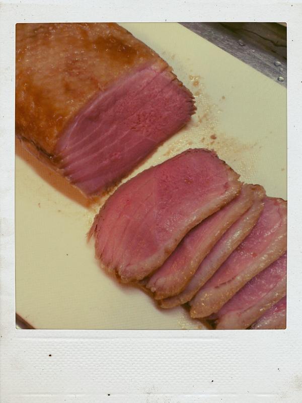 鴨ロース肉の醤油麹ロースト_b0065587_2153483.jpg
