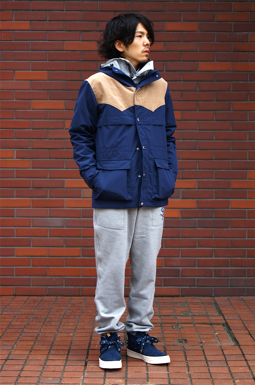 """SOPHNET. × uniform experiment\"" NAVY & GRAY!!_c0079892_2057767.jpg"