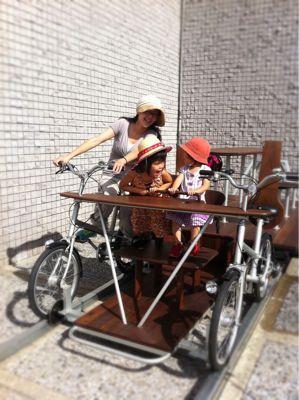 夢のテーブル自転車_d0122797_615311.jpg