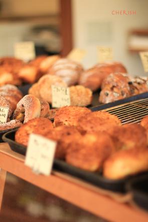 秋のリースと美味しいパン_b0208604_1344325.jpg