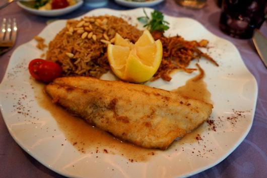ジュネーブのお皿:コーラが高い高級レバノン料理店_c0201334_22585451.jpg