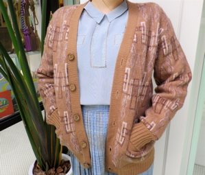 ++ Men\'s cardigan of two style !!++_e0148852_17302681.jpg