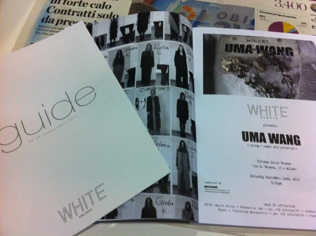 9月22日 WHITE inミラノ_d0171384_6165577.jpg