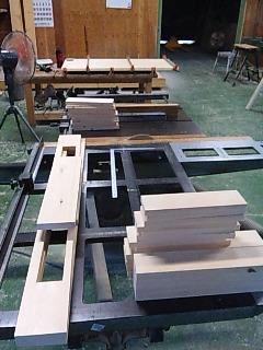 ダイニングテーブル製作_e0269185_2315395.jpg