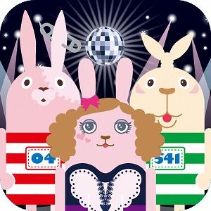 スマホ向けゲームアプリ、遂に安室奈美恵がウサビッチとコラボで登場!_e0025035_22335323.jpg
