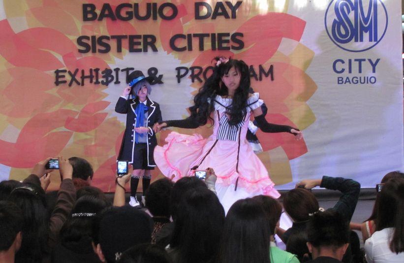 「姉妹都市Exhibit」 ピカチュウ・ドラえもん 頑張る! in Baguio_a0109542_16222281.jpg