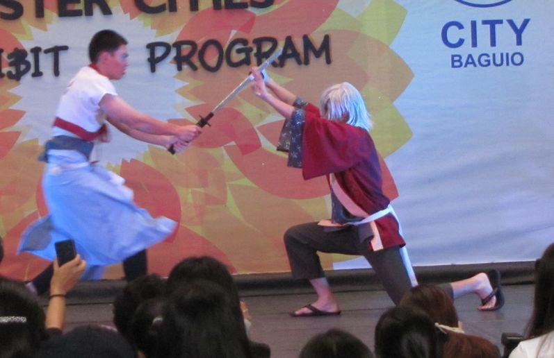 「姉妹都市Exhibit」 ピカチュウ・ドラえもん 頑張る! in Baguio_a0109542_16233110.jpg