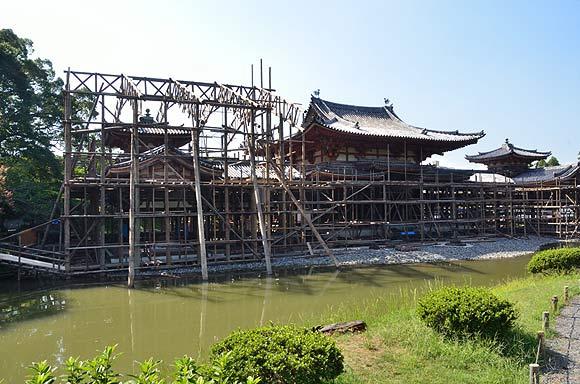 国宝平等院鳳凰堂 平成の修理_e0164563_1540527.jpg