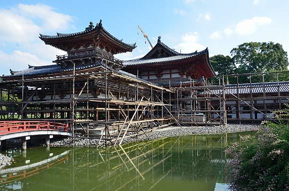 国宝平等院鳳凰堂 平成の修理_e0164563_1541262.jpg