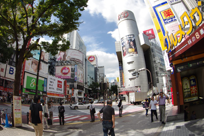 9月24日(月)の渋谷109前交差点_b0056983_1923465.jpg