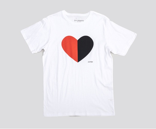 SATURDAYS SURF NYC HEARTS T-SHIRTS:SORRY,SOLD OUT!_f0111683_7551043.jpg