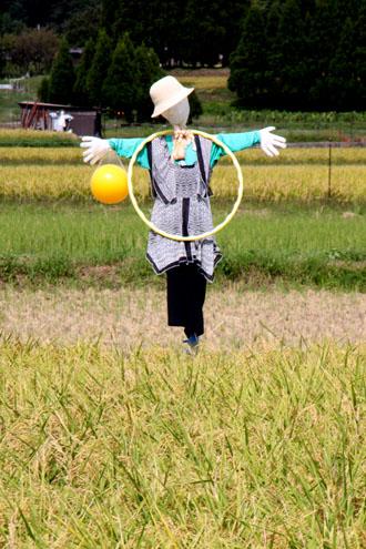 嵯峨野 彼岸花とカカシ_e0048413_23314666.jpg
