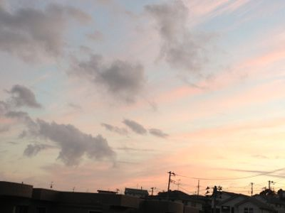 夕焼け♪_c0165914_19125541.jpg
