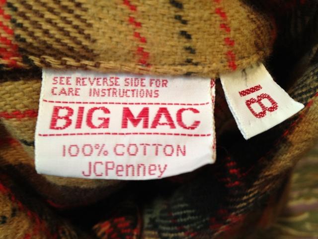 9月29日(土)入荷商品!追加分#7 BIGMACネルシャツ 色々・・。_c0144020_18233915.jpg