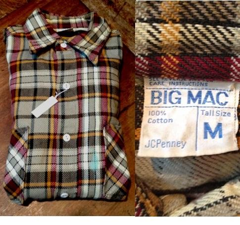 9月29日(土)入荷商品!追加分#7 BIGMACネルシャツ 色々・・。_c0144020_1823717.jpg