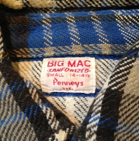 9月29日(土)入荷商品!追加分#7 BIGMACネルシャツ 色々・・。_c0144020_18252879.jpg