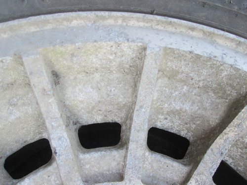 アルミホイール修理・リフレッシュ 、 パウダーコート(粉体塗装) 、 フロッキーコート(植毛塗装)_a0196542_10584515.jpg
