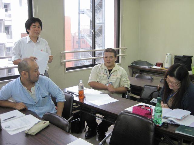 9/24 高野光司先生によるアンガーマネージメント研修 (平成24年9月度)_b0245781_1565143.jpg