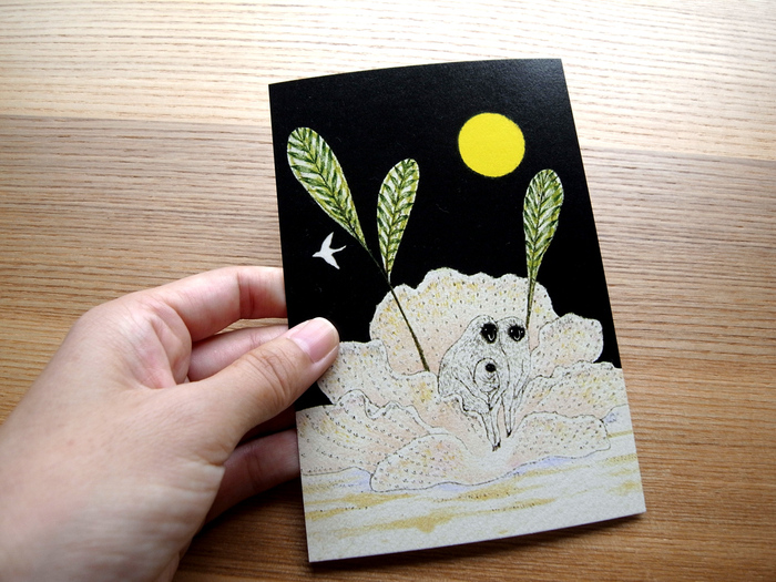 MARUU POSTCARDS AND WRAPPING PAPERS_e0216816_12443140.jpg