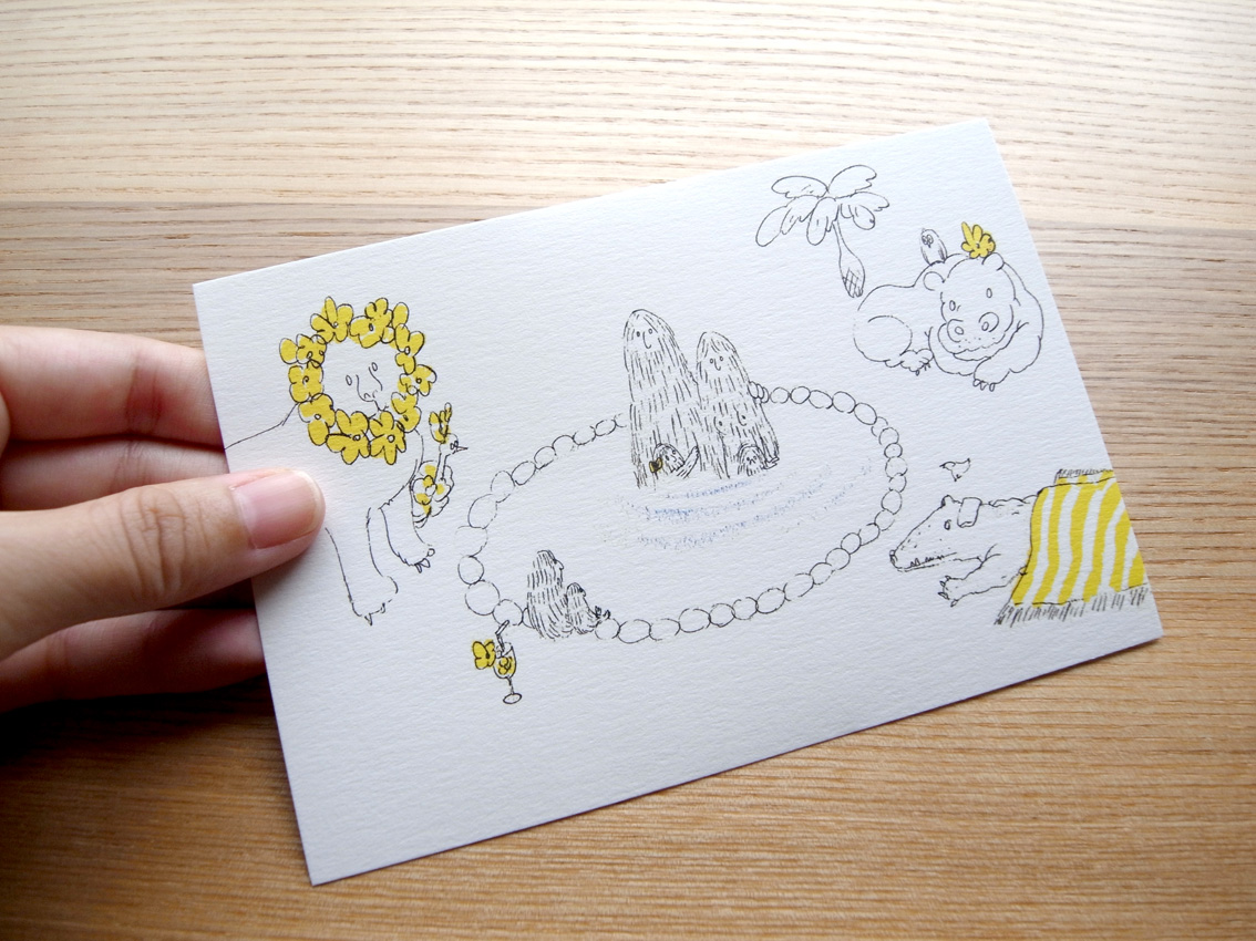 MARUU POSTCARDS AND WRAPPING PAPERS_e0216816_12492461.jpg