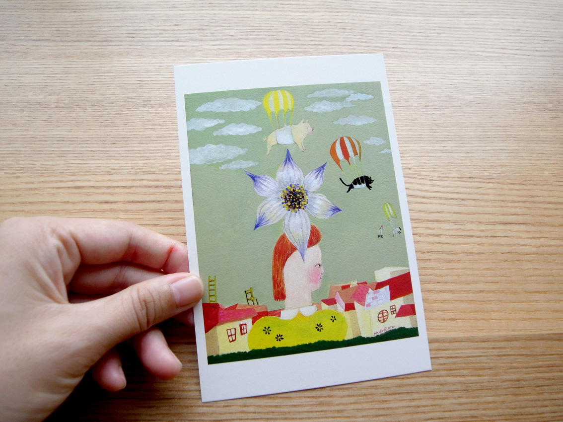 MARUU POSTCARDS AND WRAPPING PAPERS_e0216816_12501995.jpg