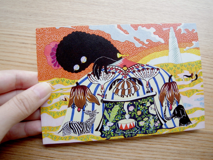 MARUU POSTCARDS AND WRAPPING PAPERS_e0216816_1301273.jpg