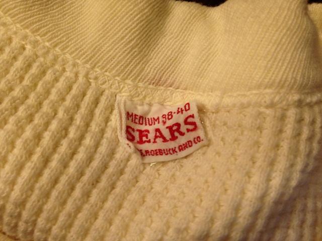 9月29日(土)入荷商品!追加分#8 50\'S~サーマルシャツ!_c0144020_1102357.jpg