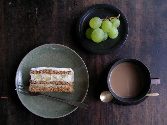おはぎと栗のケーキ_b0206421_1830449.jpg