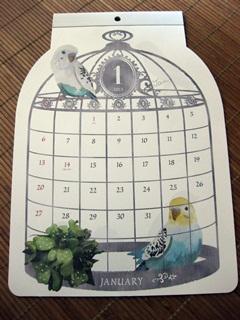 2013 小鳥さんカレンダー。_e0182726_1033176.jpg