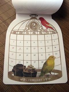 2013 小鳥さんカレンダー。_e0182726_1034971.jpg