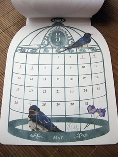 2013 小鳥さんカレンダー。_e0182726_10355020.jpg