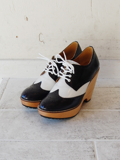 WING TIP MEDALLION SHOES byMiyuki_f0053343_2017231.jpg