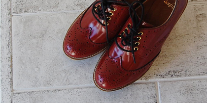 WING TIP MEDALLION SHOES byMiyuki_f0053343_20181731.jpg