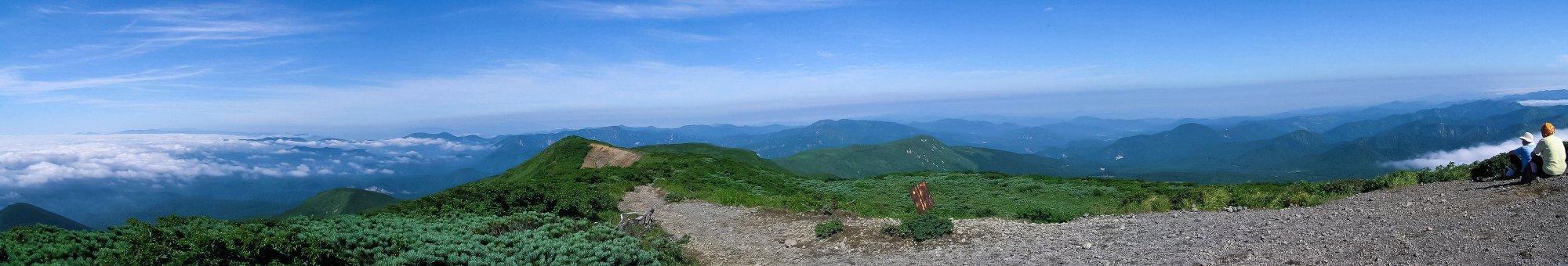 栗駒山山頂のパノラマ_f0044056_645482.jpg