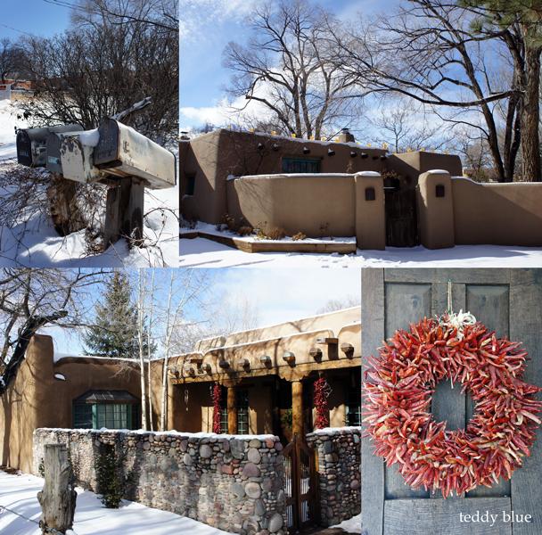 Santa Fe style  サンタフェスタイルのかわいいお家たち_e0253364_13505392.jpg
