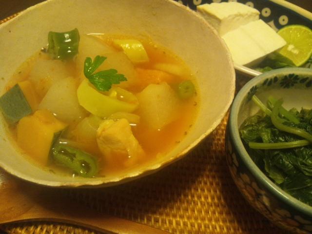秋のスープ_a0138985_22373616.jpg