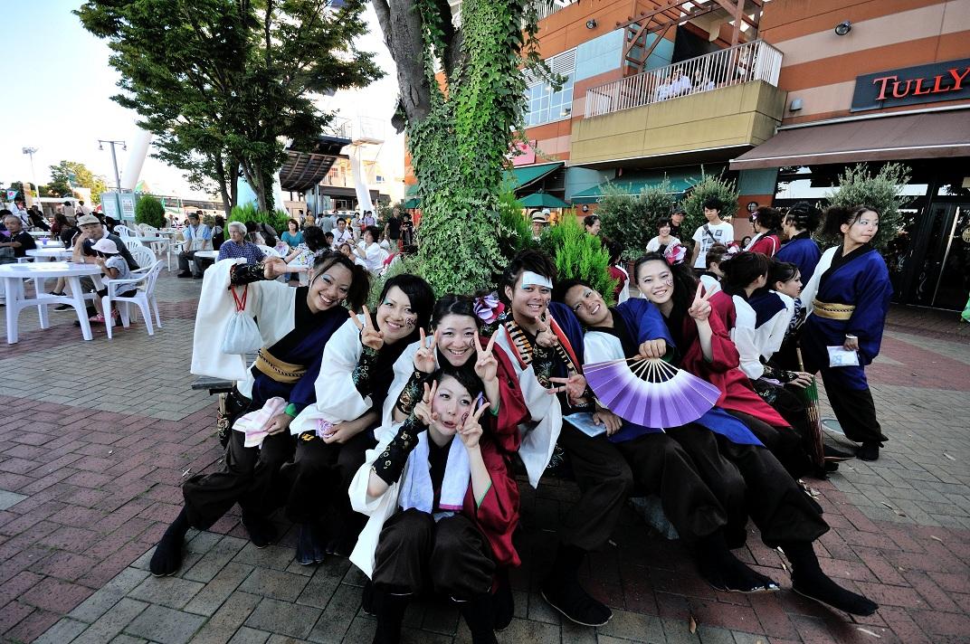 """「おだっくい祭り」にて""""お茶ノ子""""さんその3_f0184198_23415061.jpg"""
