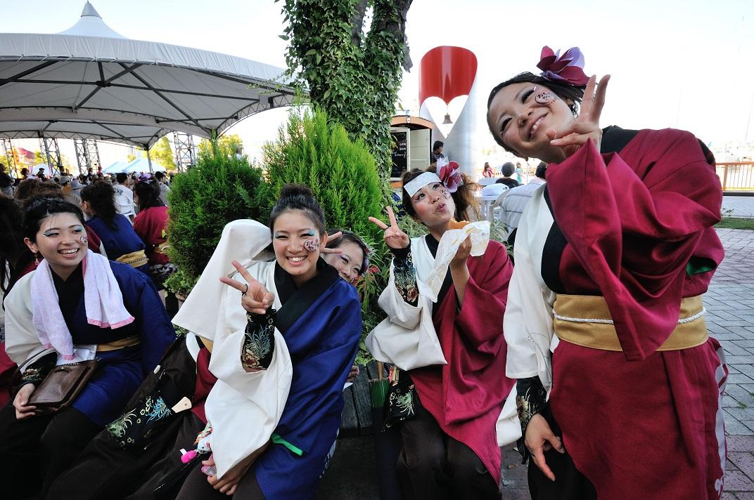 """「おだっくい祭り」にて""""お茶ノ子""""さんその3_f0184198_23422270.jpg"""