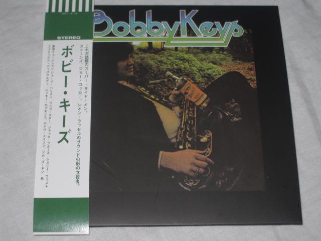 BOBBY KEYS / BOBBY KEYS  (紙ジャケ)_b0042308_22564156.jpg