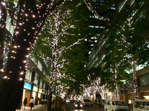 丸の内、クリスマスイルミネーションの点灯☆_b0032617_18185036.jpg