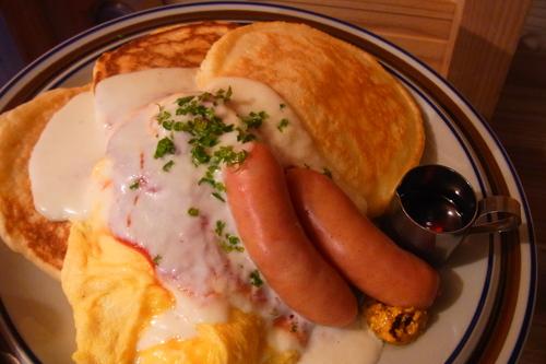 チキントマトソース煮込みプレート_b0207642_16284724.jpg