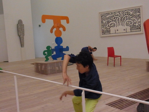 KEITH HARING DIARIES: A performance PART4 写真_e0277143_9355533.jpg