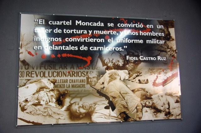 キューバ (69) モンカダ兵営博物館 その1 博物館編_c0011649_14264373.jpg
