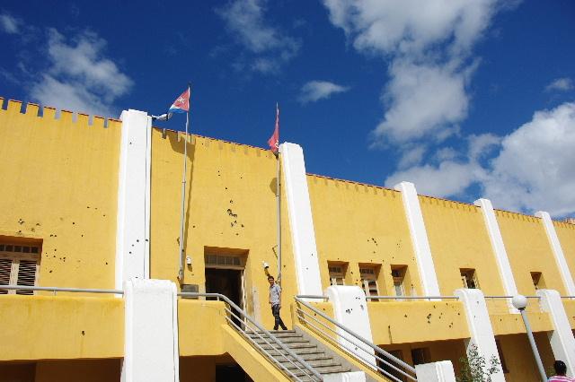 キューバ (69) モンカダ兵営博物館 その1 博物館編_c0011649_145492.jpg