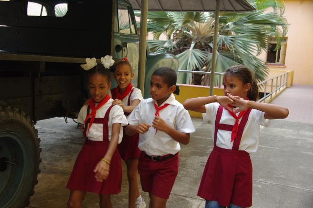 キューバ (70) モンカダ兵営博物館 その2 小学校編_c0011649_2349582.jpg