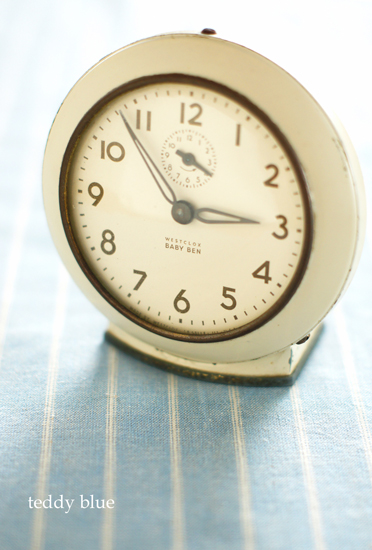 Westclox baby ben alarm clock  ベイビーベンの時計_e0253364_11465251.jpg